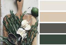 Barvy / Barevné palety