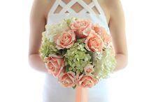 Old Rose Wedding Bouquet