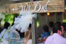 Wedding signs / Wedding signs say a lot:)