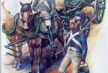 Napoleonic German troops