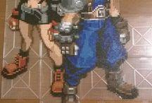 Hama Beads Final Fantasy