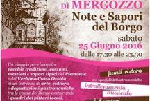 Note e Sapori del Borgo: un viaggio alla riscoperta di antiche tradizioni e sapori tipici 25 Giugno Bracchio di Mergozzo (VB)