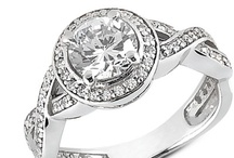 Engagement Rings / Engagement rings as offered by Addessi Jewelers.