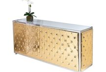 Bars & Back Bars / Rental collections of all Bars & Back Bars arrangements for wedding parties and events in NYC.