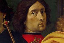 Ghirlandaio Domenico / Storia dell'arte Pittura  15° sec. Domenico Ghirlandaio 1449-1494