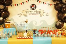 Pirate Dessert/Sweet Table / Pirate themed Dessert/sweet table. Styling, sweets and pictures by Masterpiece Of Cake.