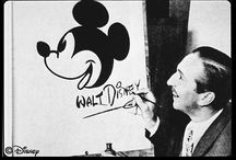 Walt Disney / Walt Disney. The man who made it all happen. If it weren't for him, I wouldn't have my happy place. / by Vanessa Diaz