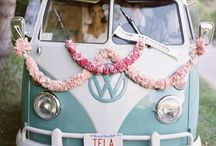 get-away car >//< / wedding get-away car truck VW van