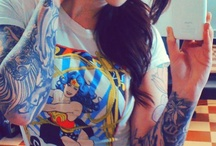 Girls with tats