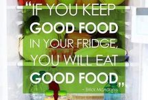 Healthy mind in healthy body / Fitness, food, positive