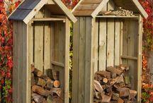 Outdoor Firewood Storage Ideas
