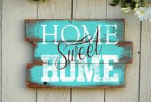 home quete sign