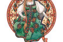 Русские народные росписи и ремесла
