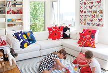Playroom living room