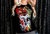 Rock-n-Roll GangStar Apparel Ladies's Wear / Kick ass gear for female Rockers! \,,/\,,/