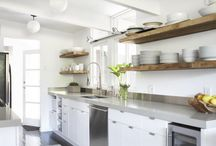 straight line kitchen