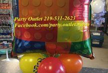 Balloon Lego Ideas / Balloon ideas for your Lego party
