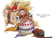 Alice in W:Art/Harry Roundtree / Alice in wonderland (illustrator)