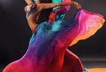 Asian-Egyptian dance costumes