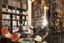 HOTEL BOOK SHELF DESIGN