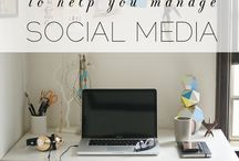 Blog: social media / by Danielle {Snippets of Inspiration}