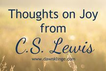 Joy / Discovering Joy in everyday life, what a joyful life looks like.