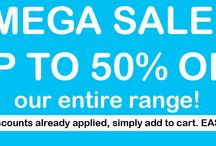 MEGA SALE! Up to 50% OFF our entire range! / For a limited time only you can purchase your favourite Mini Beanz Bean Bags at amazing discounted prices! Visit www.minibeanz.com.au to shop now! #beanbags #kids #beanbag #furniture #children #baby #babybeanbags