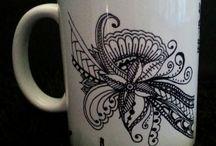 Mug Zentangles doodles