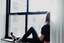 на за окном