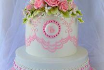 Birthday girl cake