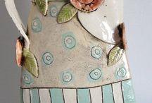 Painted ceramics