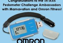 #OmronPedometer 10,000 Step Challenge / A pinning board for the #OmronPedometer 10,000 Step Challenge Ambassadors! They're taking 10,000 steps each day for 30 days and reviewing the Tri-Axis Pedometer from @OmronFitness