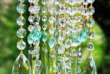 colgante con cristales