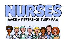 """Nurses Day Greeting Cards / Send a card to your favorite nurse on National Nurses Day, May 6th.  Acknowledge the very important role that nurses play in our health care system sending them thanks and showing them some love!  Remember they do call all the """"shots""""! ;)"""