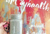 art and health / art i love and food i love :)