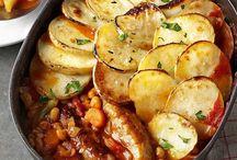 Sausage recipes / Delicious sausage recipes