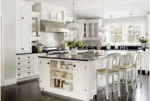 Kitchens / The KITCHEN is the heart of the home / by Tiffani Morgan
