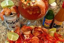 Fish & Seafood Recipes / Mexican fish and seafood recipes: fish tacos, shrimp tacos, shrimp, tuna, marlin, shrimp cocktails.