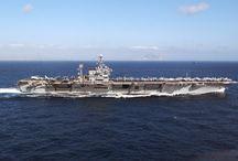 Aircraft Carrier USS JFK
