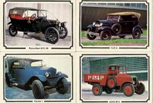 Vintage set of postcards