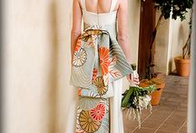 Refashioned wedding gowns