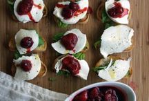 Balsamic Strawberry, Mozzarella, and Basil Crostini
