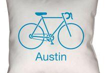 Austin, Texas Throw Pillows