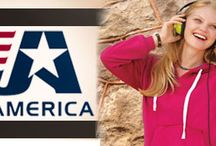 J america / J. America is a leading sportswear company to the Collegiate, Resort, and High School markets. Our strength lies in our better basic and trendy fashion product line decorated with industry leading graphics. Our mission is to be the best at servicing your needs. With our strong on-time delivery and proven sell-through performance we're ready to be your partner in success! http://www.raisingtrend.com/j-america.html
