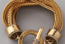 Gold/silver/rose bracelets