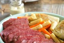 Cook me, I'm Irish / Celebrate St. Patrick's Day with simple-to-prepare, irresistibly Irish-inspired Corned Beef. Whether you want to roast it in the oven or set-it-and-forget-it in the slow cooker, Corned Beef offers a flavorful meal that the whole family will enjoy.