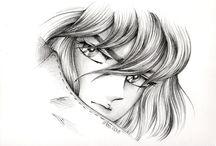 Drawing Saint Seiya / Illustration fan art