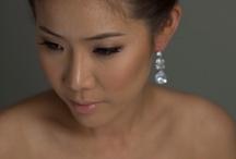 wedding makeup by MJ Pro Makeup / Asian bridal makeup#soft browny eye makeup# www.mjpromakeup.com.au