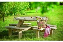 Outdoor Garden Picnic Tables