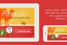 Apps for Kids 2.5 - 4 Years Old / A collection of educational apps for children by Mobile Montessori.